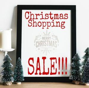 🎈Christmas Shopping SALE!!!